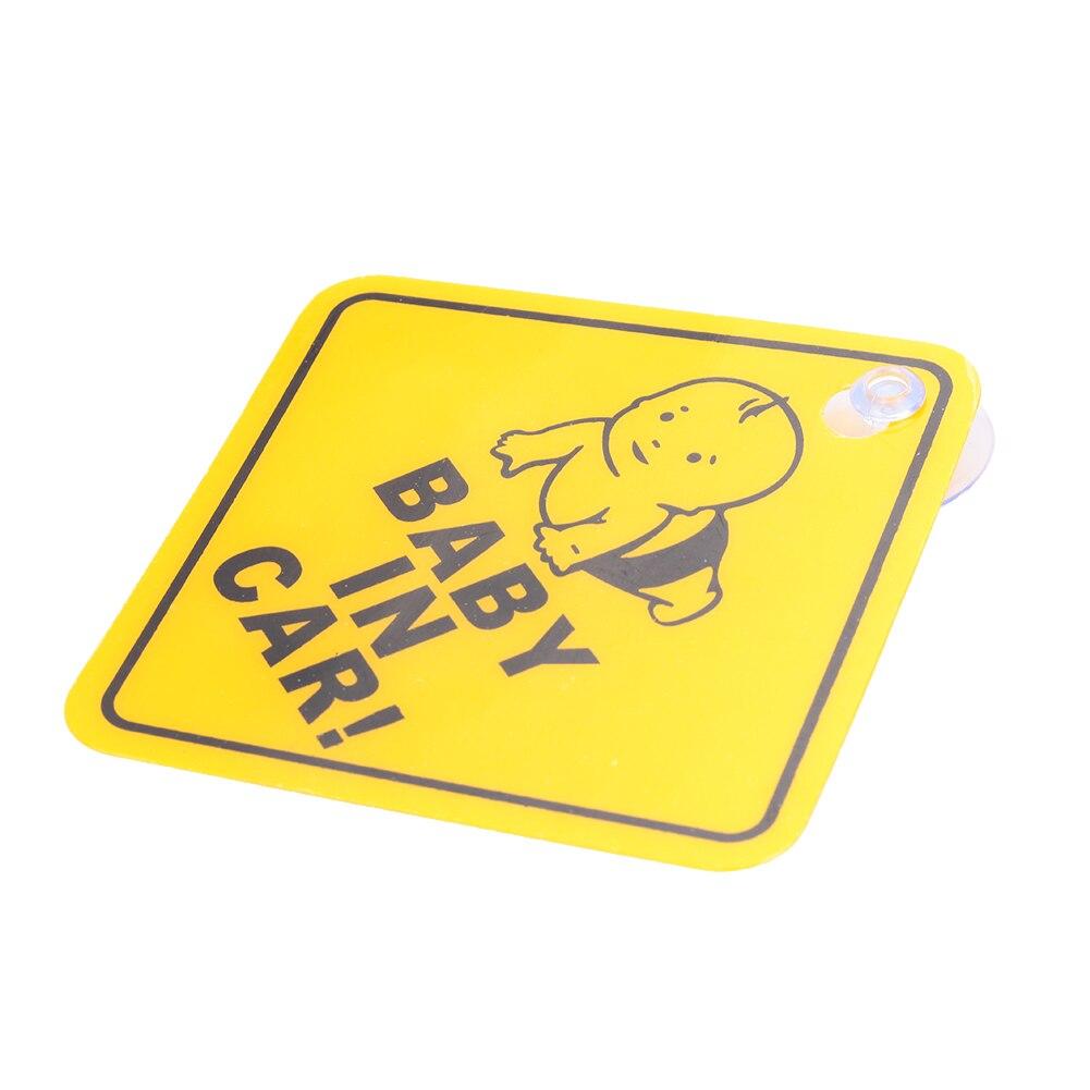 Детские светоотражающие наклейки на клейкую ленту, знак безопасности, наклейка, пробуждение, ярко-желтый пластик, безопасные аксессуары для детских колясок