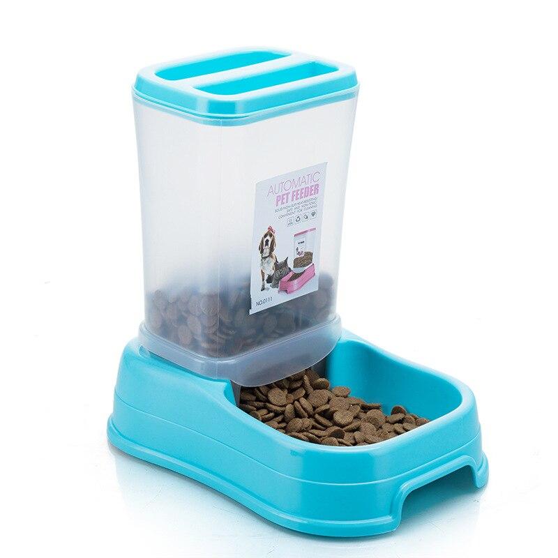 Pet Automatic Feeder Dog Cat Drinking Bowl For Dog Water Drinking Cat Feeding Large Capacity Feeding Dish Dispenser Pet Cat Dog