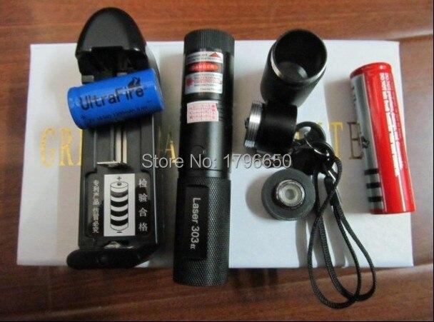 AAA de Alta potência Militar 2000 W 200000 m ponteiros Laser Verde Lanterna Luz Cigarros Fósforo Aceso Astronomia Caça + gift caixa