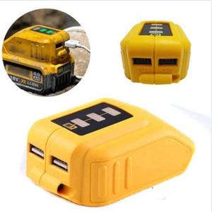 Image 5 - FULL USB Konverter Ladegerät Für 14,4 V 18V 20V Li Ion Batterie Converter DCB090 USB Gerät Lade Adapter Netzteil
