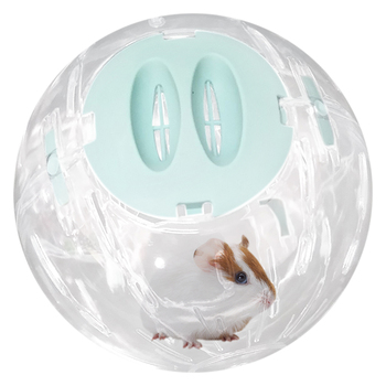 Hamster Breathable Clear Ball Without Bracket Hamster Toy Pets Product Small Running Ball 3  Colors Plastic Fit for Small Pets 4