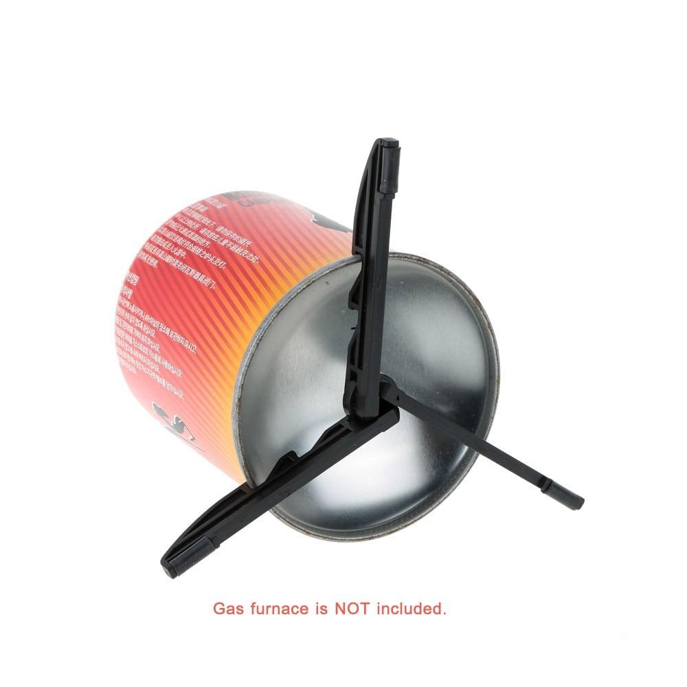 Открытый походный портативный складной газа стойка для канистры