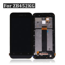 for Asus Zenfone GO ZB452KG LCD X014D LCD Display Screen Touch Screen Digitizer Assembly ZB452KG Display +Frame Free Shipping(China)