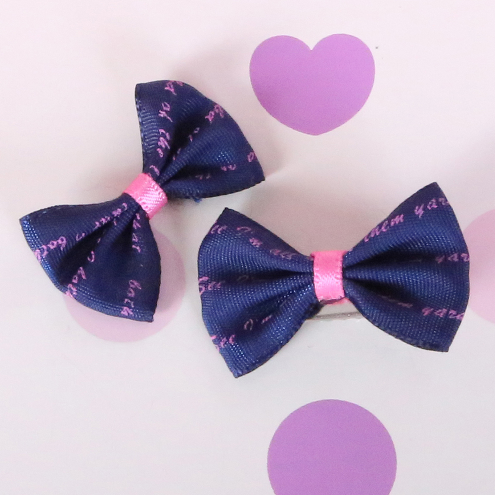 Pet Grooming Bows Small Dog Hair Accessories Grooming Hair Bows With Clips Puppy Hair Ties Headdress Pet Gifts