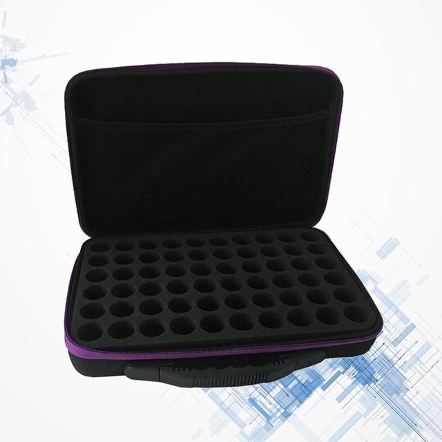 60-Bottle Essential Oils Storage Case Lightweight Durable Portable Essential Oil Case Pack Carrying Holder Organizer Travel Box 5
