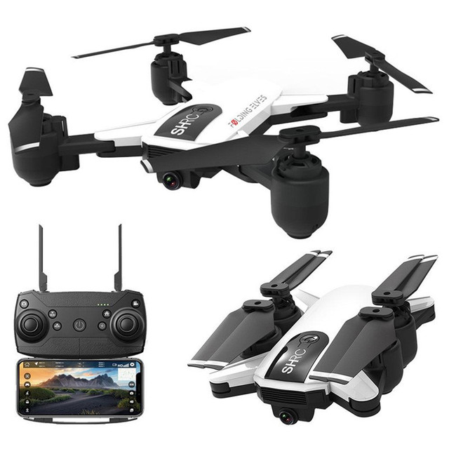 Hot SHRC H1G 1080P 5G WiFi FPV GPS Mode Foldable 25mins Flight Time RC Drone Quadcopter RTF Selfie Drone with High Angle Camera