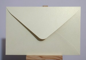 "Image 4 - 50pcs 17x11cm(6.6"" x 4.3"") 120g Pearl Color Paper Envelope for Invitation Greeting Card Postcard"
