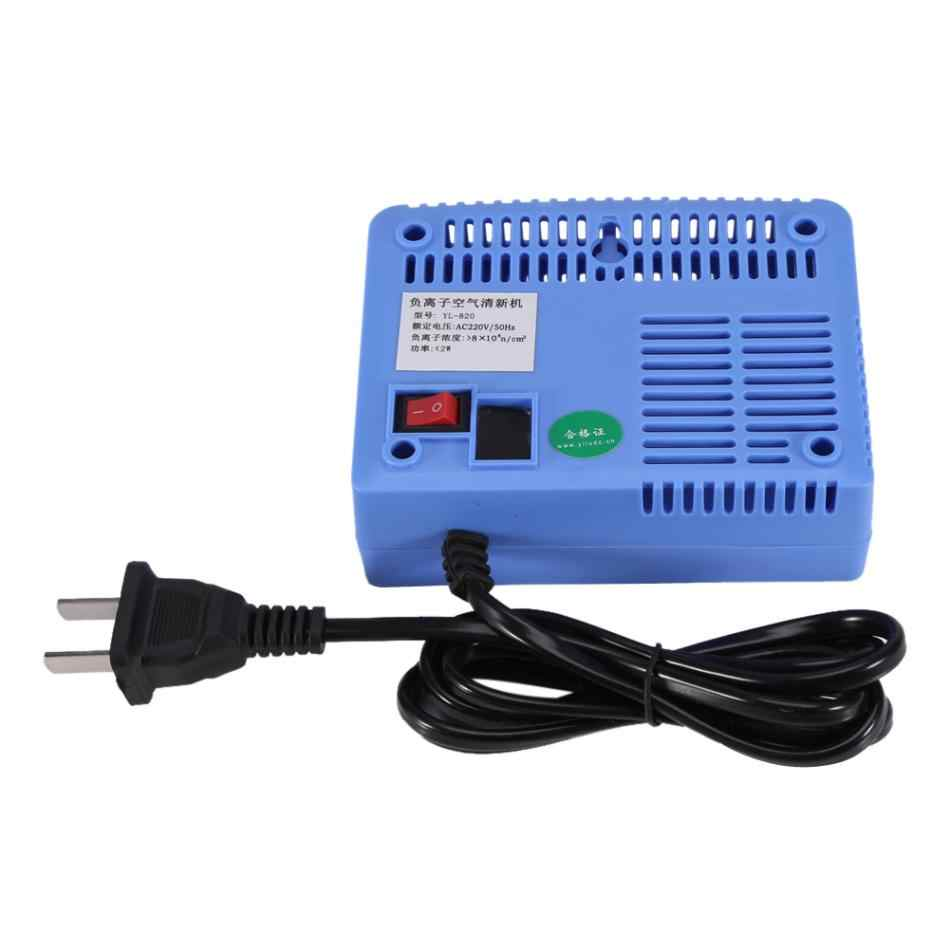 AC220-240V Negative Ionizer Generator Ionizer Air Purifier Remove Smoke Dust Air Purifiers Negative Ion Generator