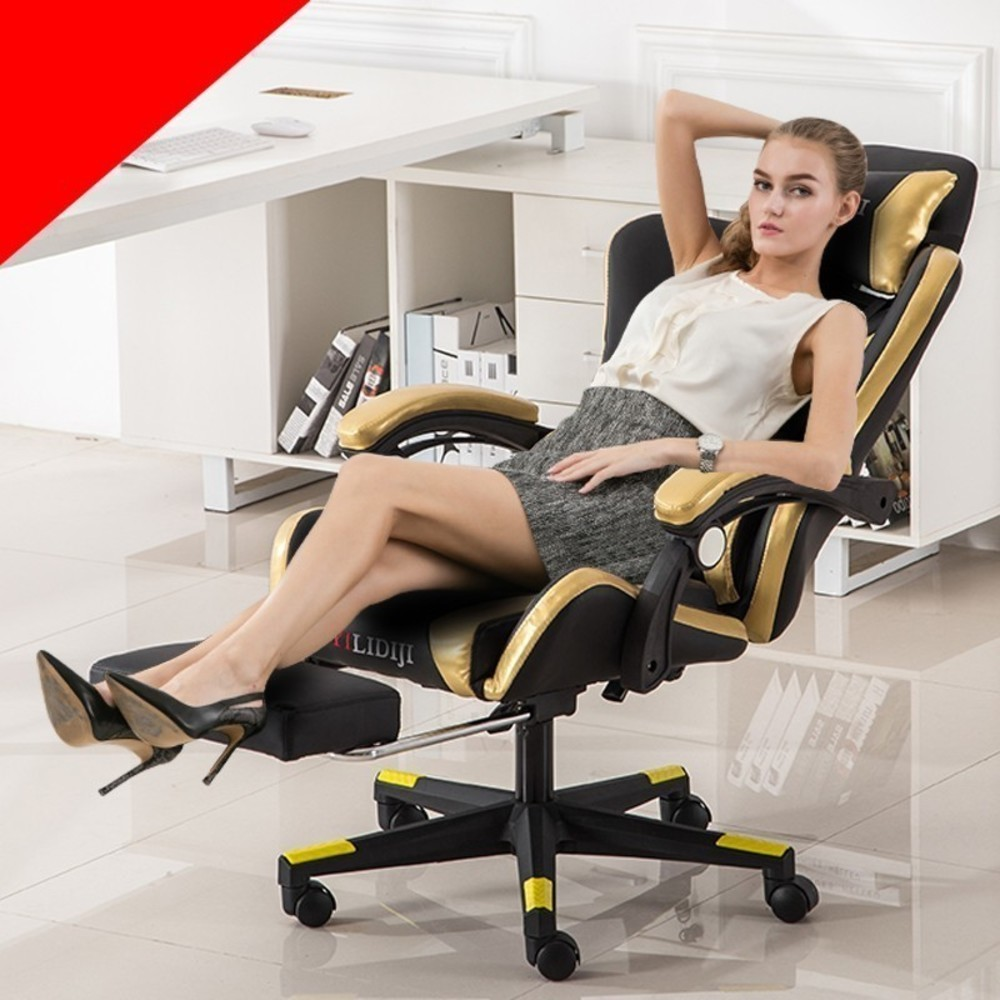 Купить с кэшбэком Steel Chair Ergonomic Chair Office Furniture Computer Gaming