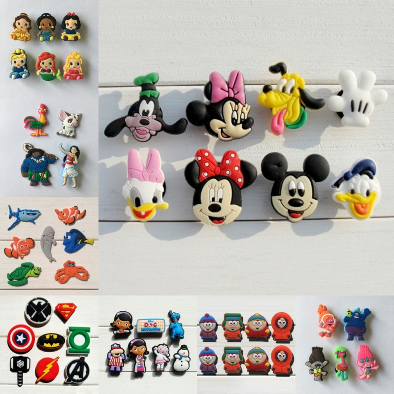 LARGE Animal /& Things Shoe Charms Shoe Buttons Clog Accessories Cake Toppers