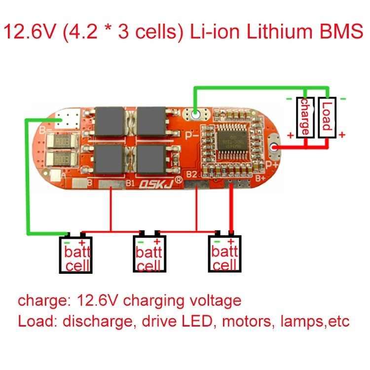 BMS 1 S 2 S 10A 3 S 4S 5S 25A BMS 18650 Li-Ion литиевая батарея защиты печатной плате модуля плата защиты литиевой батареи BMS pcb PCM 18650 Lipo зарядное устройство BMS