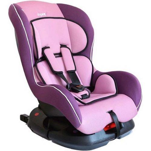 Car Seat SIGER Nautilus purple, 0-4 years old, 0-18 kg, group 0 +/1 (KRES0191) car seat siger art диона alphabet 0 7 years old 0 25 kg group 0 1 2 kres0467