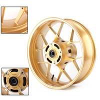 CBR600RR Motorcycle Rear Wheel Rim For Honda CBR 600 RR F5 2013 2014 2015 2016 2017 2018 Gold