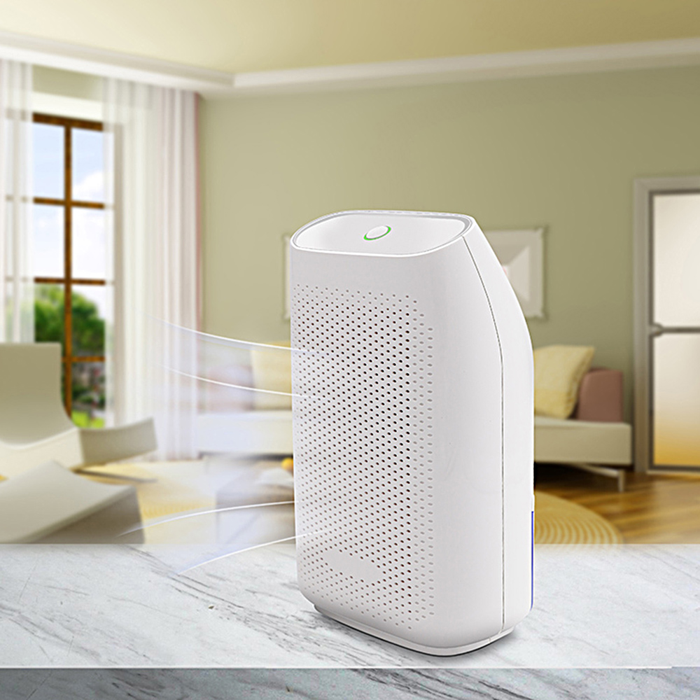 Home Use Electric Mini Semiconductor Dehumidifier Ultra Quiet Desiccant Moisture Absorbing Air Dryer for Wardrobe Dehumidifier