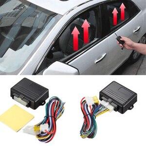 Универсальный 12V Автоматический 4-дверный Полезные автомобильный оконный модуль Авто безопасности Системы набор автомобильные аксессуары ...