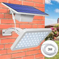 Super Bright 48LEDs Solar Light Outdoor LED Wall Lamp Solar Waterproof Wall Lights for Outdoor Courtyard Garden Security Light