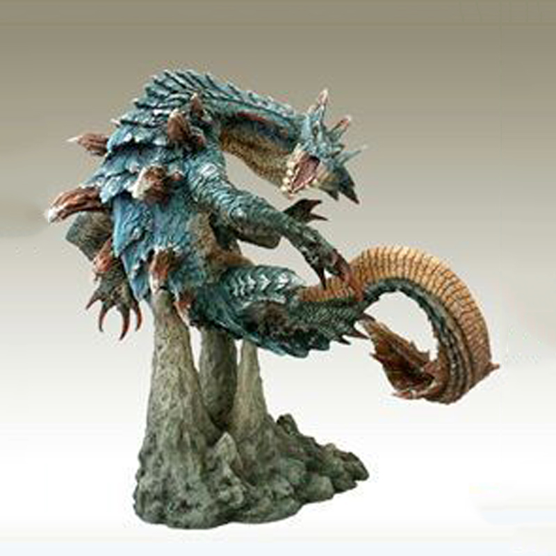 3G MH3G Monster Hunter Lagiacrus Model Figure Crafts Collection Ornaments Kids Toys Gifts