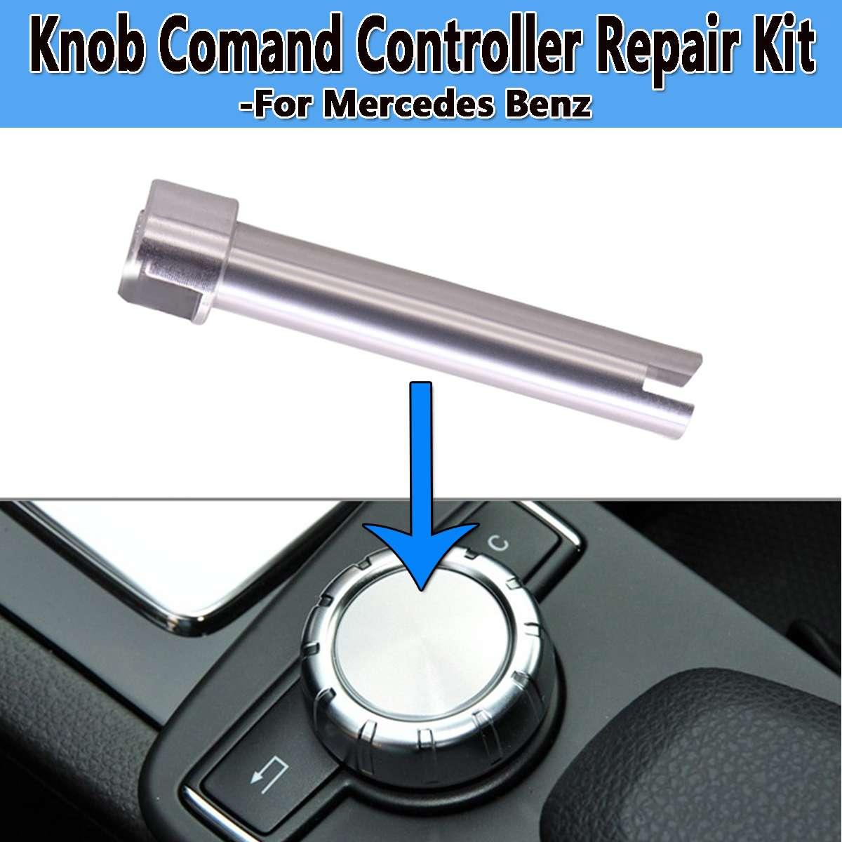 Nouveau contrôleur de Console de commande Radio bouton de commutation rotatif bouton de défilement arbre réparation Fix pour Mercedes pour Benz W204 X204 W212 W218