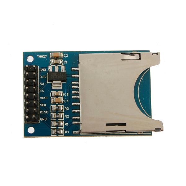 LEROY 1 шт. 3,3 V/5 V sd-карту в модульном слоте для считыватель сокетов для Mp3 плеер для Arduino совместимый