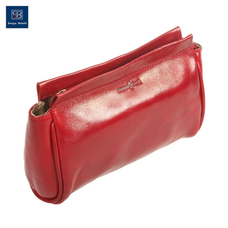 Фото - Make Up Bag Gianni Conti 9405197 red women cosmetic bag travel lattice pattern makeup case zipper make up bags organizer storage pouch toiletry kit wash beauty bags