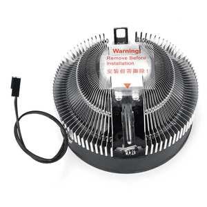 Image 5 - Кулер для ПК S SKYEE, светодиодный вентилятор для охлаждения процессора с синей апертурой, тихий радиатор для Intel 775/1156 для AMD AM2 AM2 + AM3 AM3 +