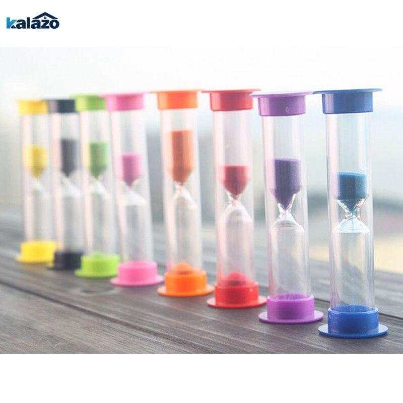 6Pcs Sand Timer Clock Sandglass Hourglass For Kitchen Home 1//2//3//5//10Min//30Se