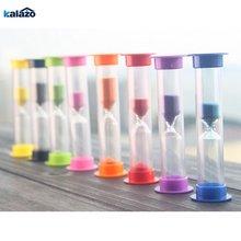 Мини красочные песочные таймер часы песка 5 цветов на выбор