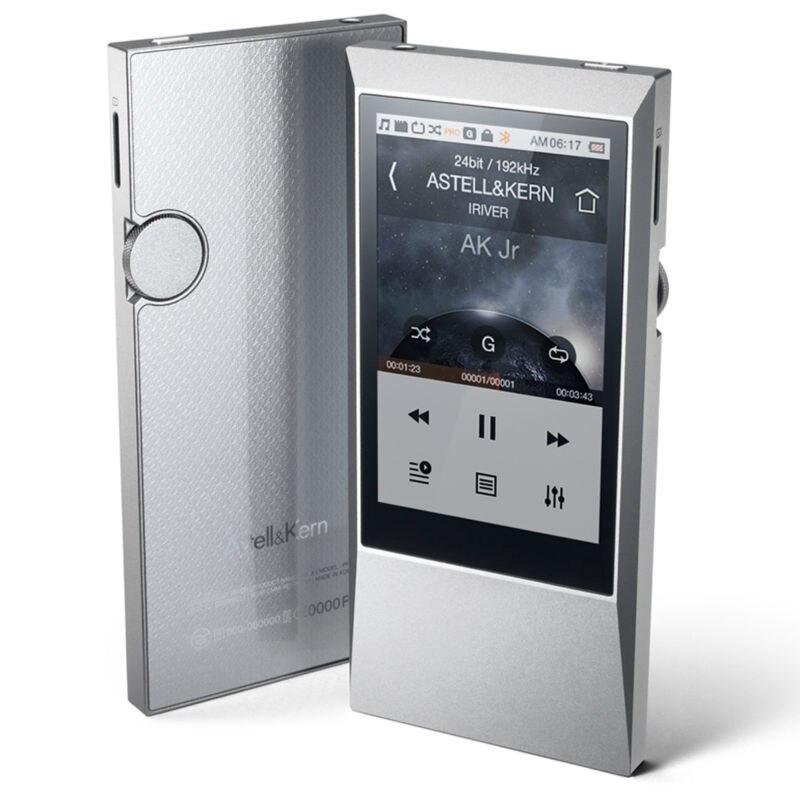 D'origine IRIVER Astell & Kern AK Jr 64 GB HIFI LECTEUR Portable DSD MUSIQUE MP3 Lecteur Audio Sans Perte musique MP3 cadeau Le cas En Cuir