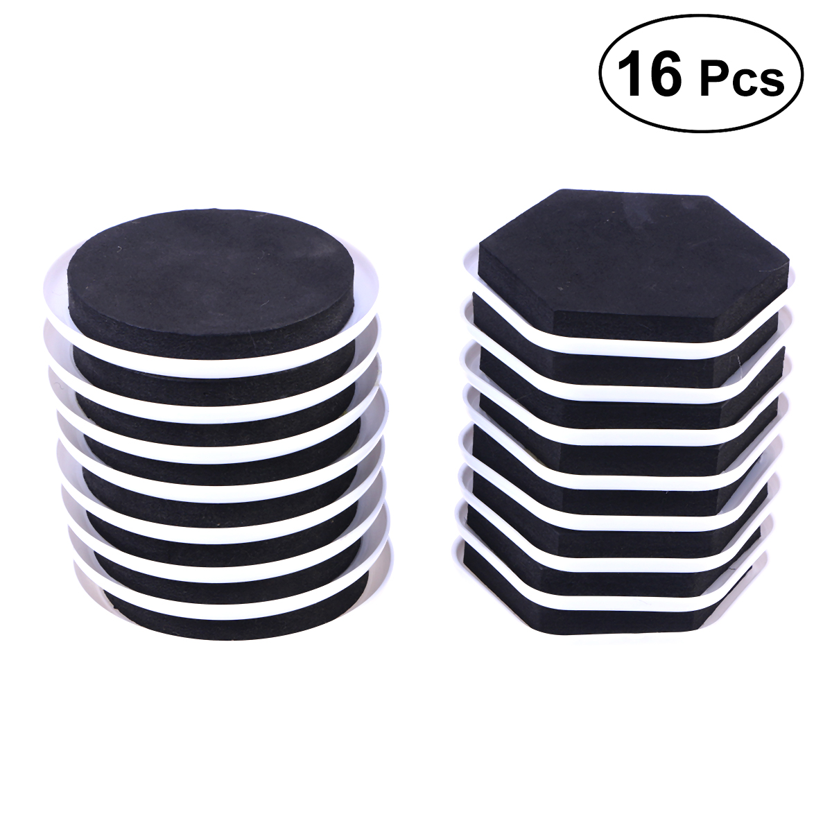 16 Pcs Furniture Sliders Tough Efficient Durable Helpful Reusable Furniture Movers For Moving Heavy Furnitures Sundries