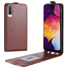 JONSNOW Flip Leather Case for Samsung A50 SM-A505F Cases A30 A305 Luxury Cover with Card Slot Capa Fundas