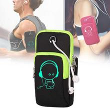 Sports Running Mobile Phone Bag Outdoor Armband Sweatproof Arm Package Gym Fitness Cell Key Holder