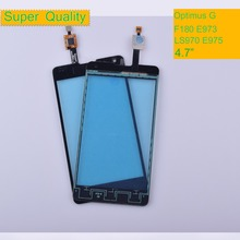 10Pcs/lot For LG Optimus G F180 E973 LS970 E975 E977 Touch Screen Touch Panel Sensor Digitizer Front Glass Outer Touchscreen