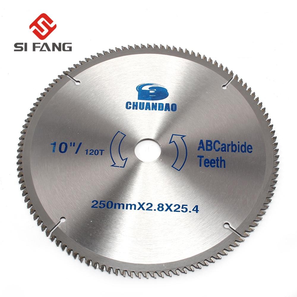Hoja de sierra circular de alta calidad 350 mm x 32 mm x 60T para discos de corte de madera circulares sierra de corte