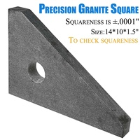 38*26*4cm Marble granite high Precision Triangle Ruler for Woodworking Quick Read Square Layout Gauge Measuring Tool Ruler