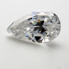 6*8mm pear Cut 1.33 carat White Moissanite Stone Loose Diamond for Wedding Ring