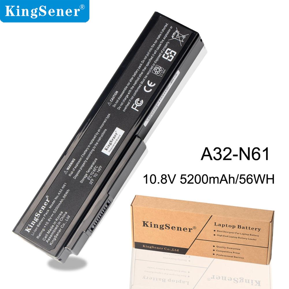 KingSener A32-N61 Batterie für Asus N61 N61J N61D N61V N61VG N61JA N61JV M50s N43S N43JF N43JQ N53 N53S N53SV A32-M50 a32-X64