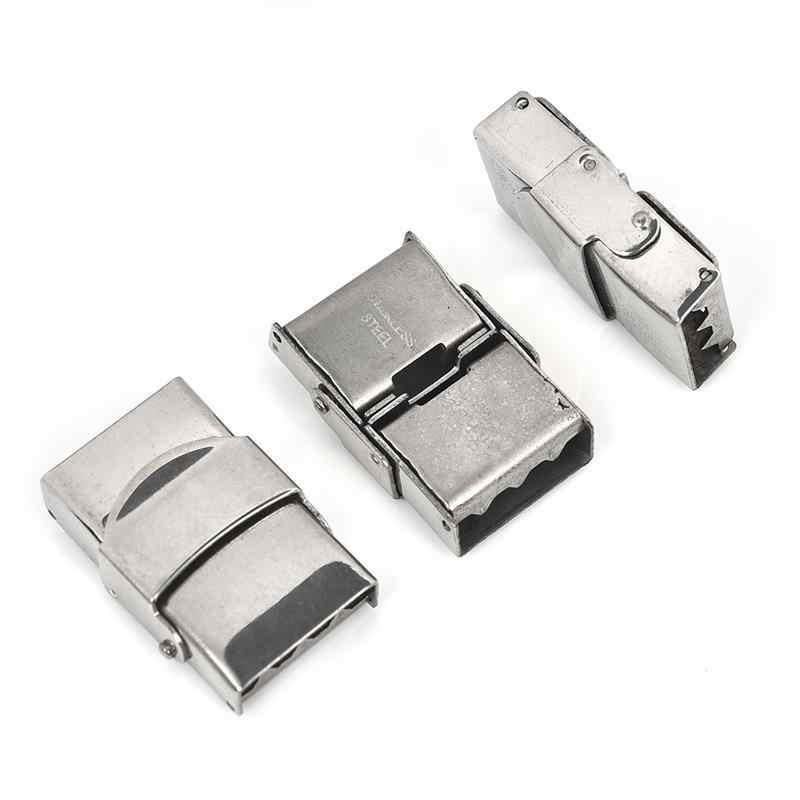 5pcs/Pack Stainless Steel Magnetic Clasps For Jewelry Making Leather Bracelet Buckle Connectors DIY Jewelry Findings