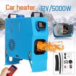 Все в одном 5000 Вт воздушные Дизели нагреватель 5квт 12 в автомобильный нагреватель для грузовиков моторных домов лодки автобус + новейший ЖК