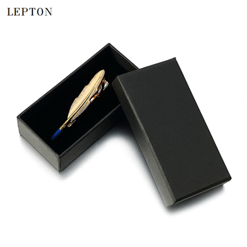Lepton Black Paper Tie Clips Boxes 30 PCS/Lots High Quality Black matte paper Jewelry Boxes Cuff links Carrying Case wholesale