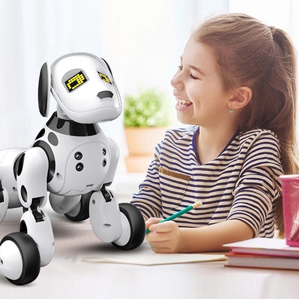 Jouets pour enfants Sans Fil Robot Interactif Chiot Chien Robot télécommande Chiens Jouets Pour Garçons Filles Enfants cadeau d'anniversaire