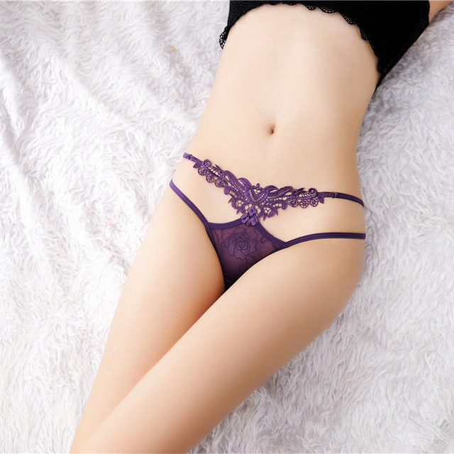 Lace Sex Panties Sexy Lingerie Femme Thin Lingerie Sexy Hot Erotic Women's Pants G-string Thong Sexy Underwear Transparent Hot 3