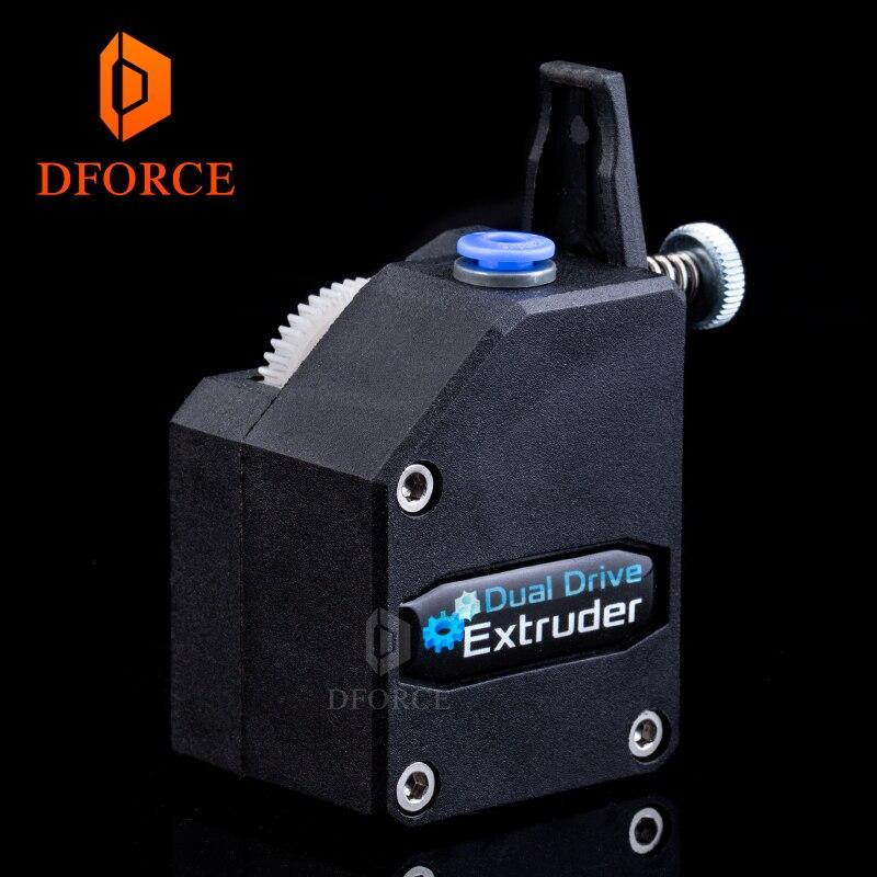 BMG DFORCE Bowden Extrusora extrusora Clonado Btech Dual Drive Extrusora para impressora 3d impressora de Alto desempenho para 3D