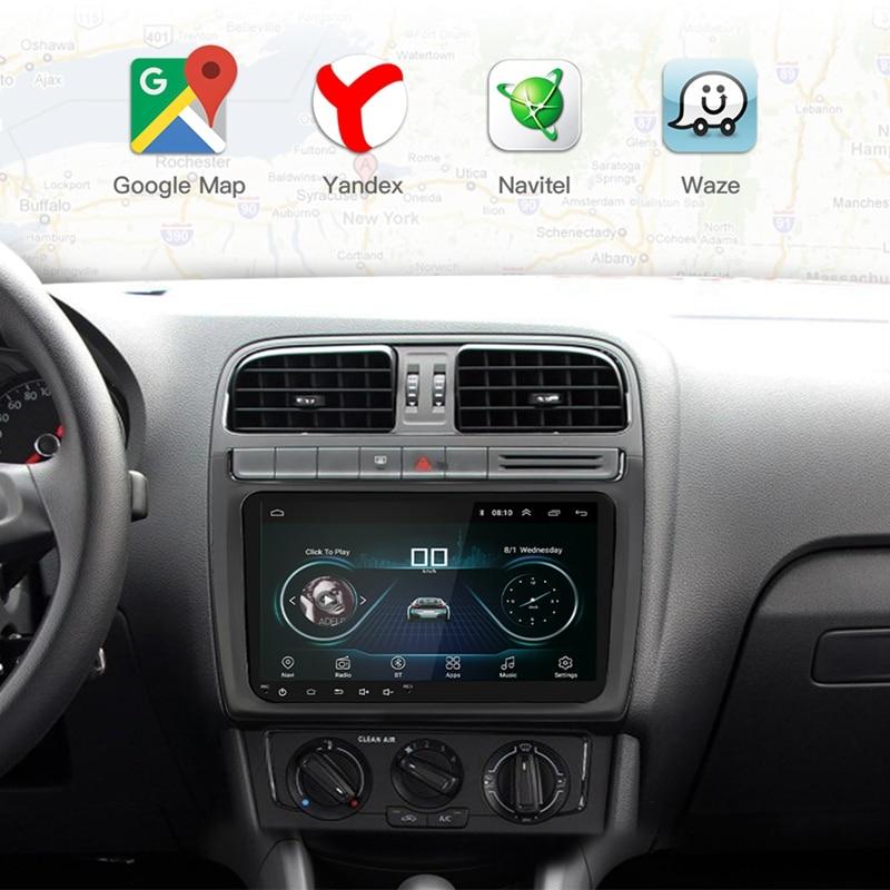 9 pouces Android 8.0 Double 2Din autoradio Gps Auto Radio 2 Din Usb pour Volkswagen/Passat/Golf/Skoda/siège Wifi Bluetooth 2 Din - 3