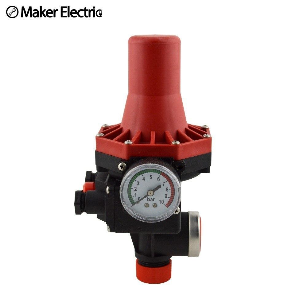 IP65 1.1kw, 1.5kw commutateur de contrôle de pression automatique pour pompe à eau MK-WPPS07 110 V-120 V ou 220 v-240 V 50/60Hz