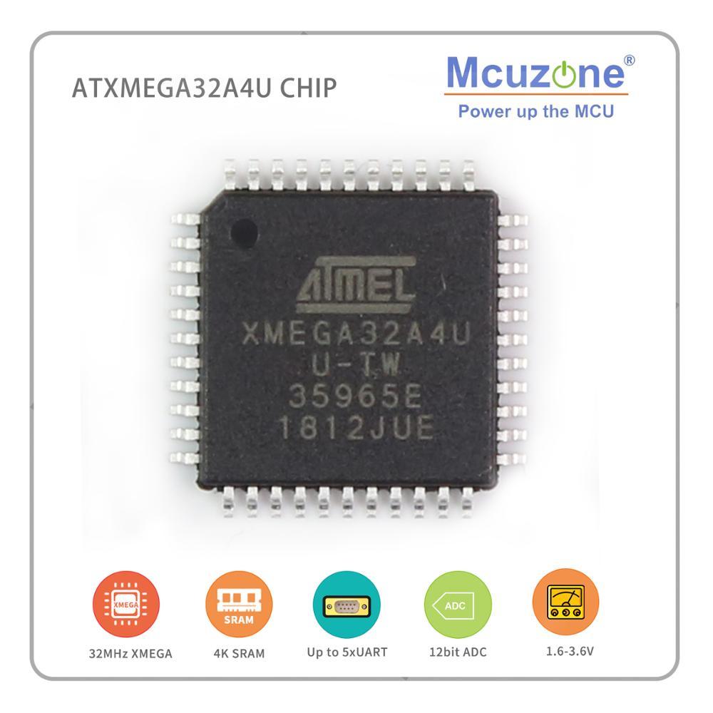 ATxmega32A4U-AU Chips ( ATMEL Xmega32A4U ATXMEGA Pdi Are In Stock Shipping 24 Hours 32A4 U MICROCHIP 32A4U XMEGA32A4U