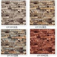 3d Wall Paper Brick Thicken Pvc Stone Wallpapers Pvc Vinyl Wallpaper Roll For Walls Papel Pintado Vintage Papel De Parede Tijolo