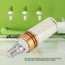 E14 16W Lamp Bulb lampada led Corn Bulb Warm White LED Light Bulb AC 85-240V LED Light For Home Decoration(China)