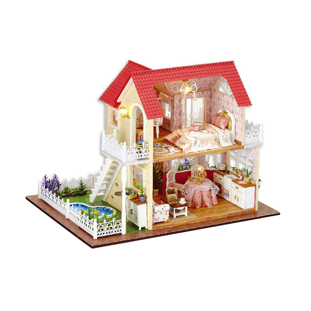 Architecture/diy House/mininatures 1pc Kids Castle Model Miniature Assembly Diy Educational Crafting Building Block Artwork Kits Toy Gifts For Gift Toy Kids Toys & Hobbies