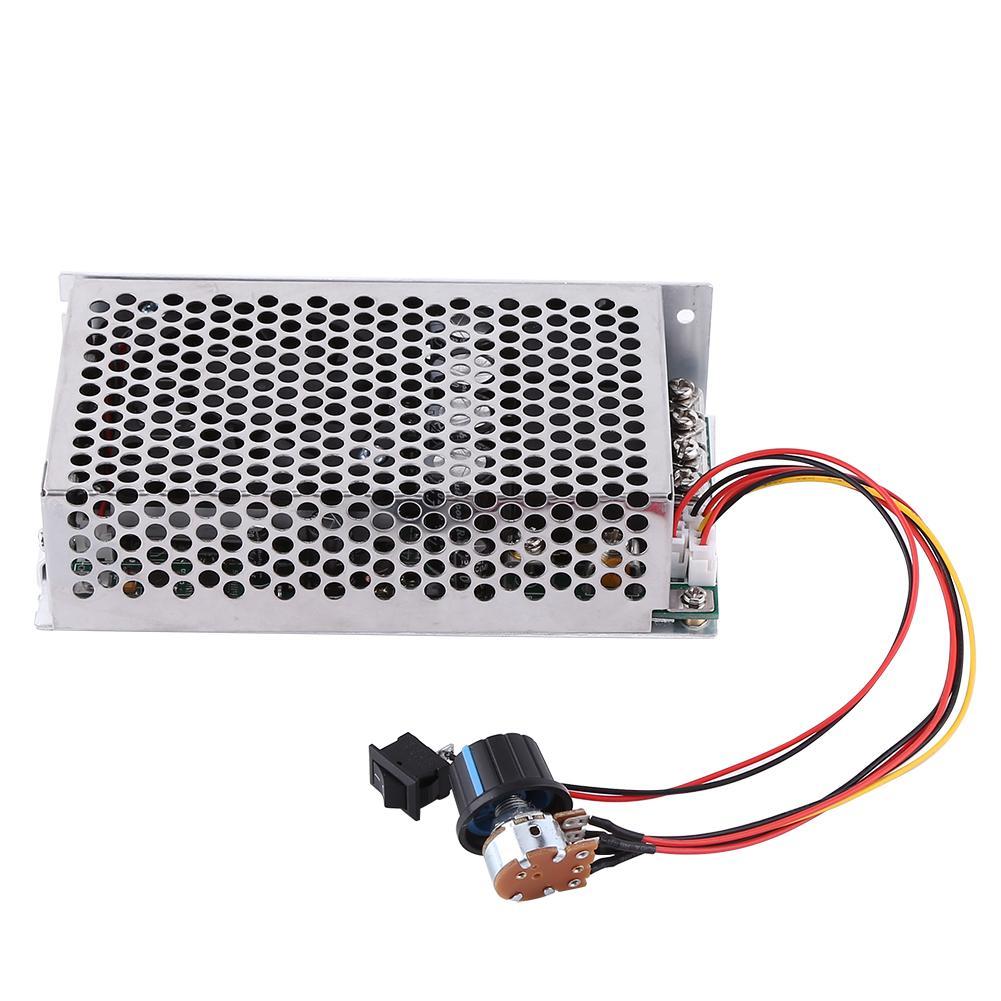 10-50 V PWM Régulateur de Vitesse Du Moteur de Contrôle Module 100A 5000 W régulateur de vitesse moteur cc Commutateur pour la voiture moteur de ventilateur Gouverneur