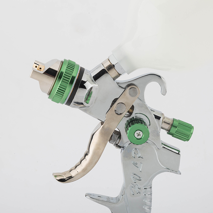 Multi-functional Paint Spray Gun Automotive Eco-Friendly High Atomization Finish 1.4 / 1.7 / 2.0 Mm Three-head Pneumatic